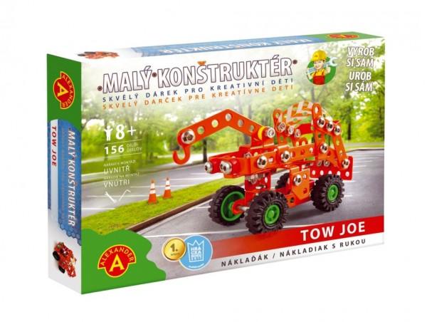 Malý konstruktér odtahovka Tow Joe kov 156ks stavebnice v krabici 23x17x3,5cm