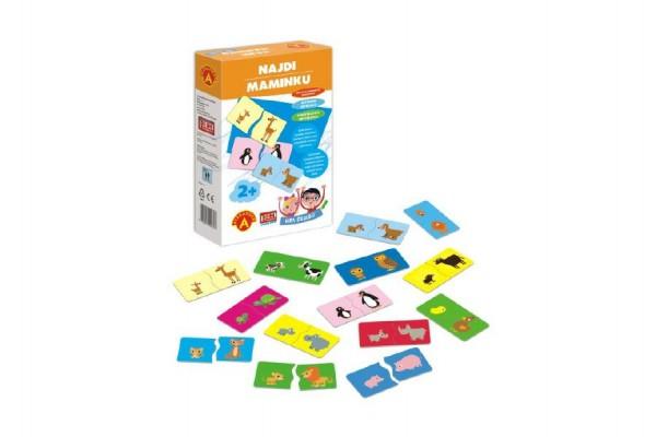 Hra školou® Najdi maminku kreativní hra v krabici 16x25x5cm 2+