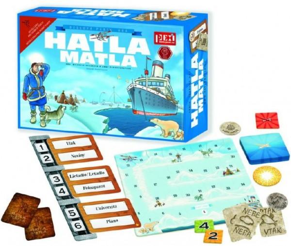 Hatla Matla společenská hra v krabici 28x20x7cm