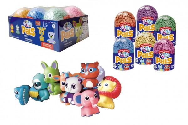 PlayFoam® PALS Modelína/Plastelína kuličková Kámoši (Série 1) mix barev 6ks (4+2 zdarma) v boxu