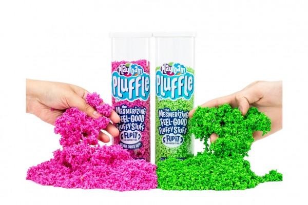 PlayFoam Pluffle hypnotizující hmota 6 barev v tubě 23x7cm 12ks v boxu