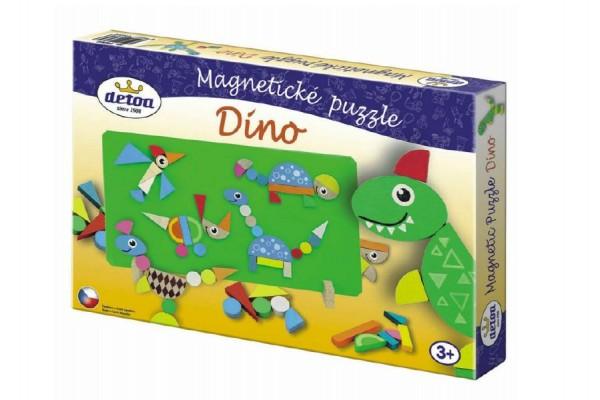 Magnetické puzzle Dinosauři v krabici 33x23x3,5cm