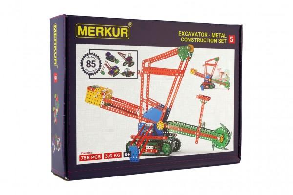 Stavebnice MERKUR 5 80 modelů 767 dílů