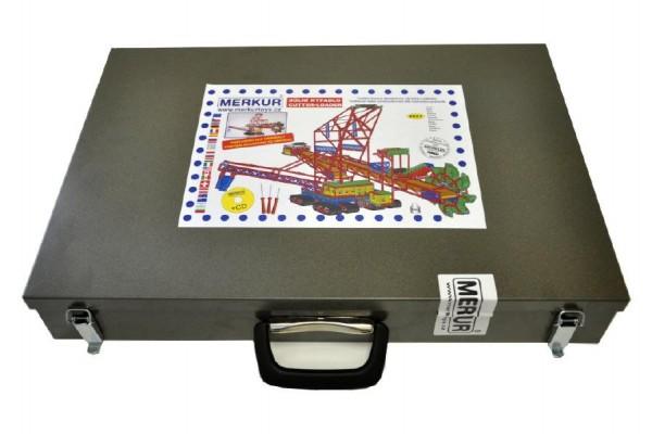 Stavebnice MERKUR Maxi Důlní rypadlo 2627ks v kufru 54x37x10cm