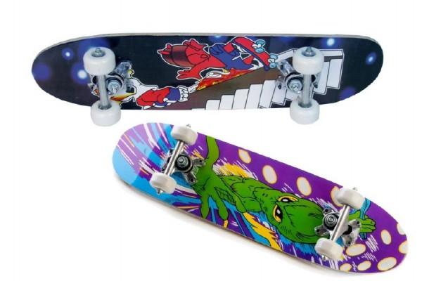 UNISON Skateboard dřevo 61x8x15cm