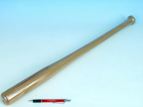 Pálka baseballová dřevěná 66cm