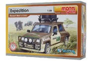 Stavebnice Monti System MS 14 Expedition Renault M.5 T. 1:28 v krabici 22x15x6cm