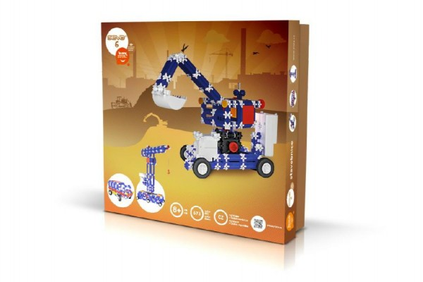 Stavebnice Seva 6 Elektro plast 673ks v karbici 35x33x8cm