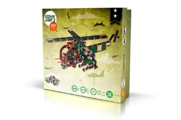 Stavebnice Seva Army 2 plast 623ks v krabici 35x33x5cm