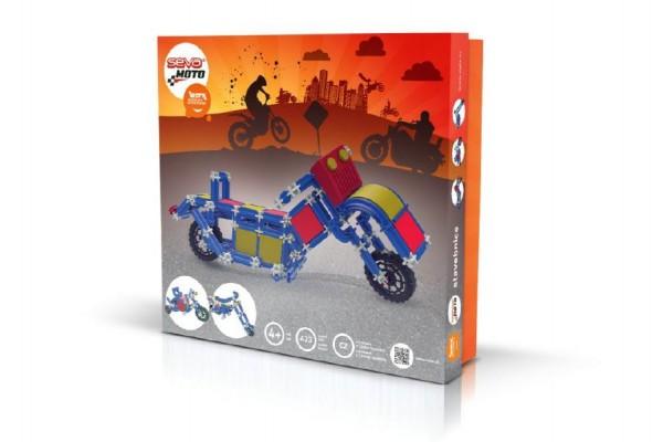 Stavebnice Seva Moto plast 423ks v krabici 35x33x6cm
