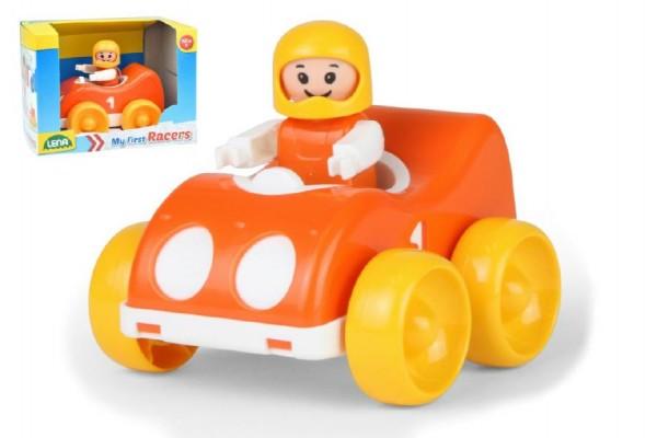 My First Racers závodní auto + figurka plast 10cm v krabici 15x11x11cm 12m+