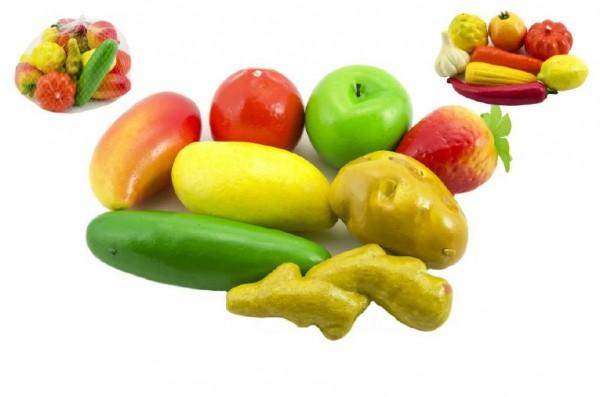 Ovoce a zelenina plast 10cm v síťce