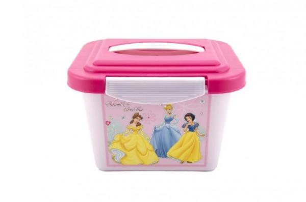 Box úložný Disney Princezny plast 24x17x18cm