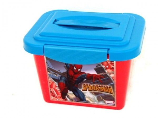 Box úložný Marvel Spiderman plast 24x17x18cm