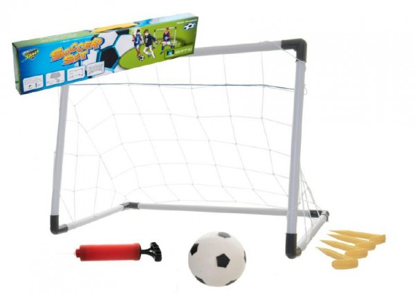 Fotbalová branka plast 60x37x43cm v krabici