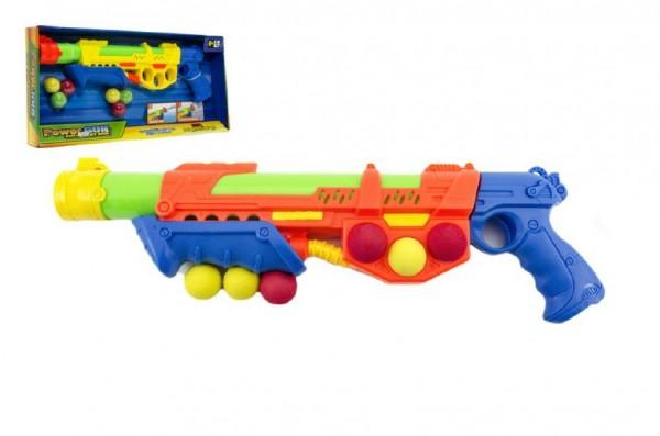 Pistole na vodní bomby plast 47cm v krabici