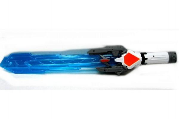 Meč vesmírný plast 60cm na baterie se zvukem se světlem asst 12ks v boxu