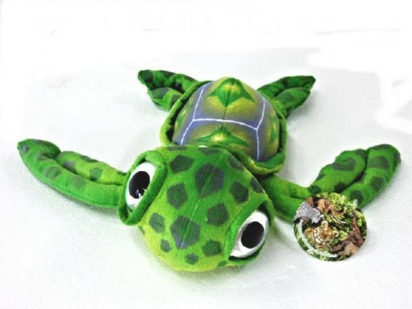Želva velké oči plyš 26cm