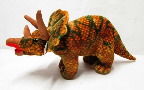 Dinosaurus triceratops plyš 48cm