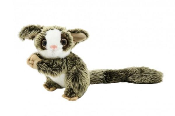 Opička maki plyš 25cm v sáčku