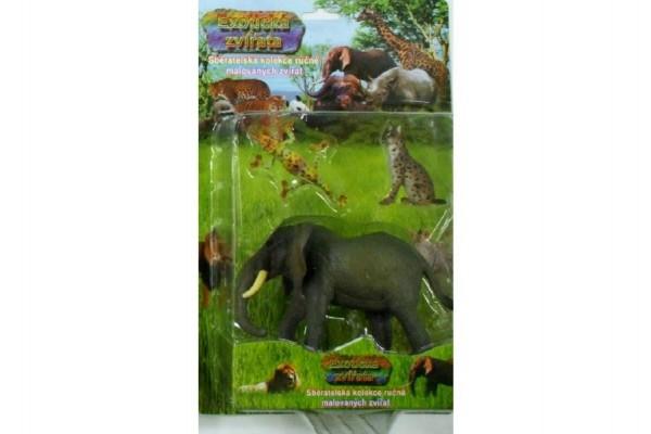 Sada zvířata ZOO plast 3ks v blistru