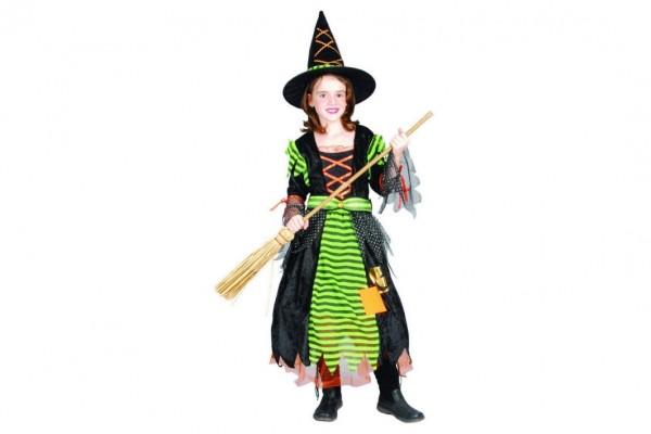 Karnevalový kostým čarodějnice vel. S, M v sáčku karneval