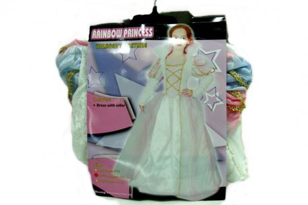 Kostým karnevalový princezna vel.M,L v sáčku karneval