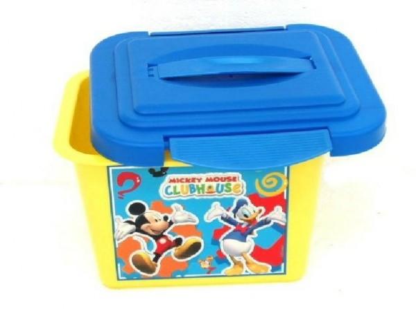 Box úložný Mickey Disney plast 25x20x15cm