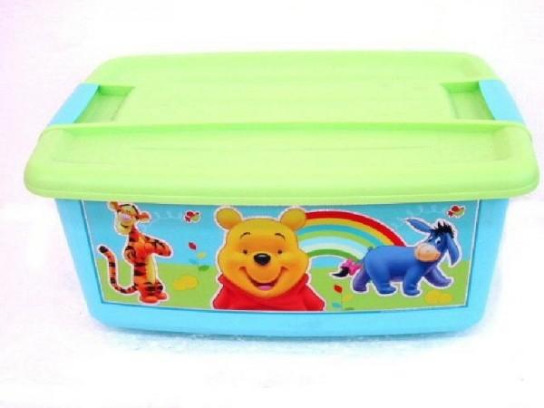 Box úložný Medvídek Pú plast 47x33x25cm
