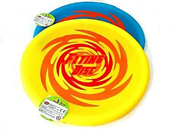 Létající talíř nylon průměr 40cm asst 2 barev