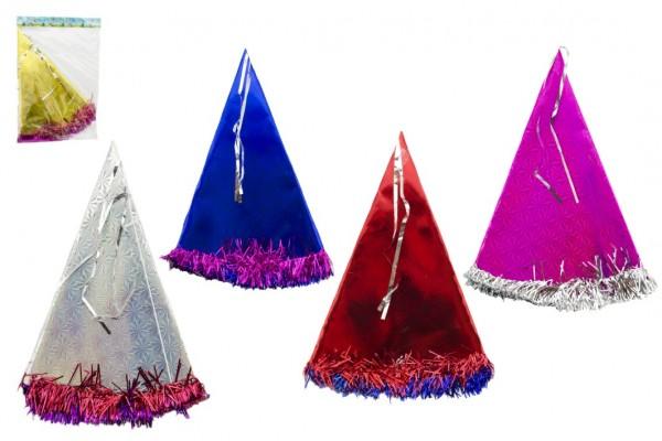 Klobouk party 35cm asst mix barev v sáčku karneval
