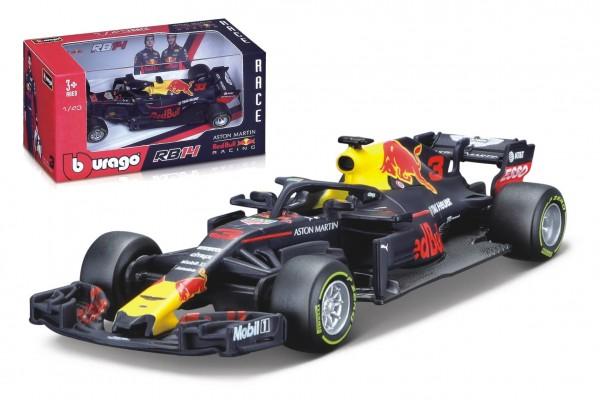 Auto Bburago 1:43 Aston Martin Redbull Racing formule kov/plast v krabičce 14x7x6,5cm  24ks v boxu