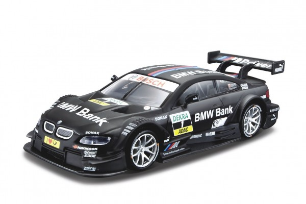 Auto Bburago 1:32 Race kov/plast mix druhů v plastové krabičce 16,5x7x9cm 12ks v boxu