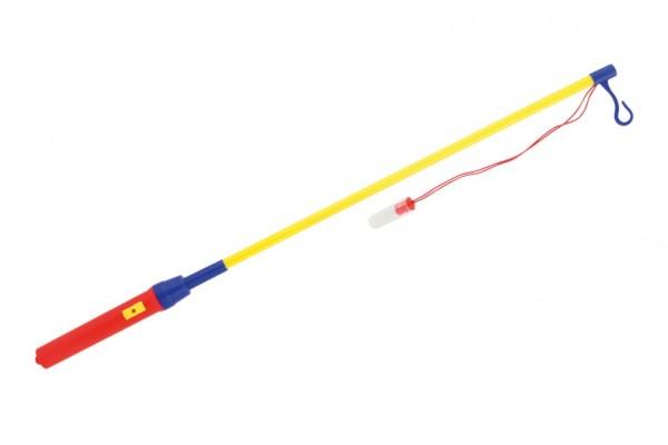 Hůlka k lampionu svítící 50cm na baterie v sáčku karneval