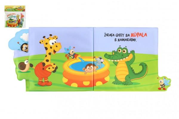 Knižka mäkká Žirafa Giffy a jej kamaráti 20x15cm v sáčku SK verzia