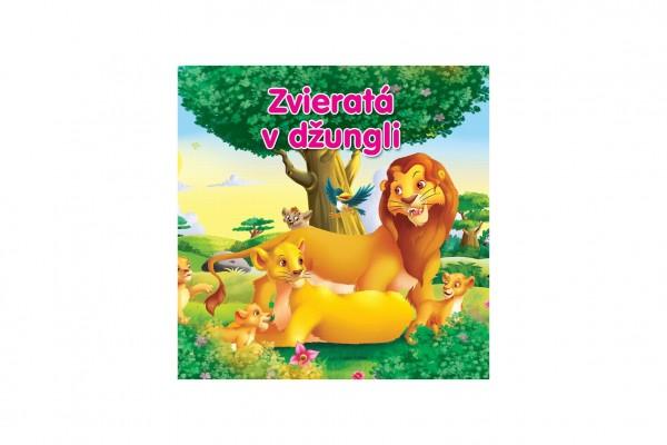 Kniha Zvieratá v džungli SK verzia 18x18cm