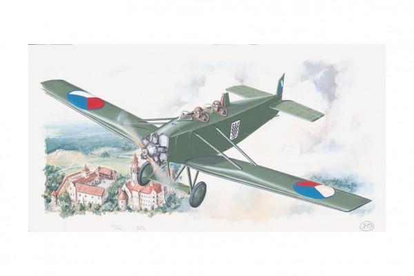 Model Avia BH 11 13,2x19,4cm v krabici 31x13,5x3,5cm