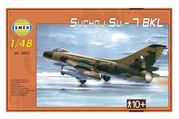 Model Suchoj SU - 7 BKL 1:48 v krabici 35x22x5cm