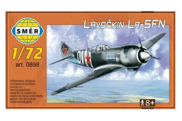 Model Lavočkin La-5FN 1:72 13,6x12cm v krabici 25x14,5cm