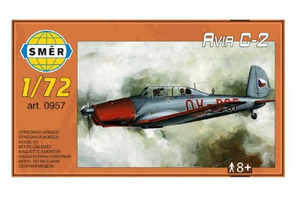 Model Avia C-2 1:72 15,2x1,18 cm v krabici 25x14,5x4,5cm