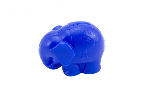 Pokladnička Slon plast 13cm asst modrý