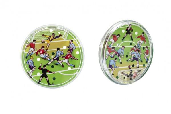 Kopaná/Fotbal kopaná hra hlavolam plast průměr 9cm