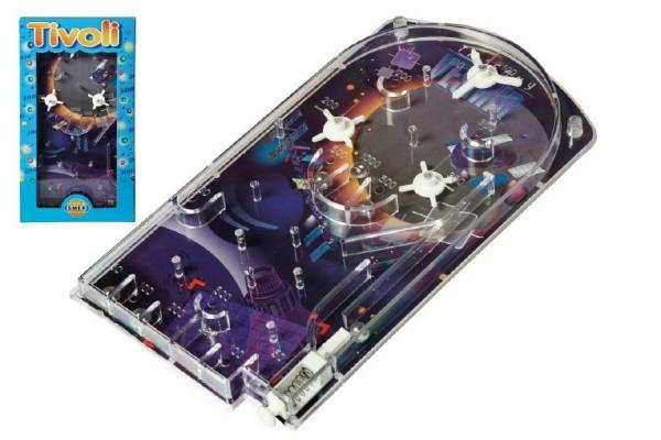 Pinball Tivoli společenská hra hlavolam 17x31,5x2cm v krabici