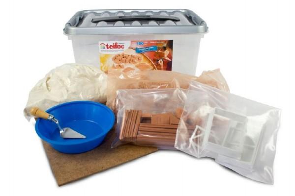 Stavebnice Teifoc Startovací set 30x14x19cm v plastovém boxu