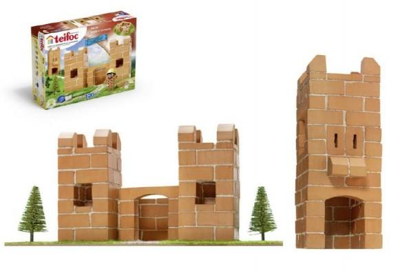 Stavebnice Teifoc Hrádek v krabici 35x30x5cm