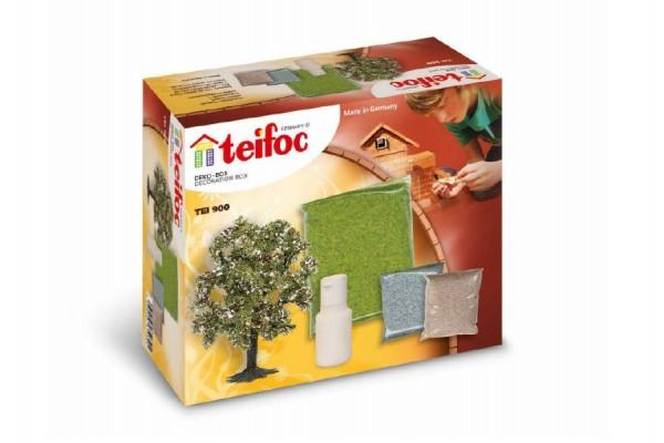 Stavebnice Teifoc Dekorační sada v krabici 18x15x8cm