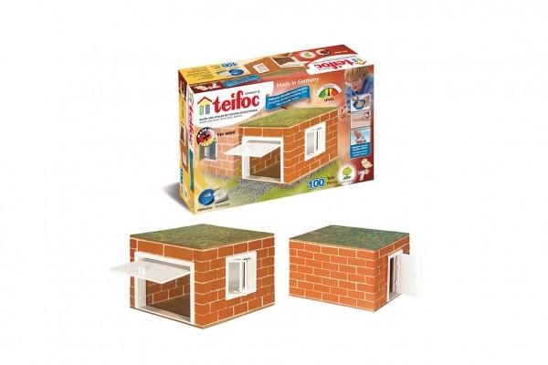 Stavebnice Teifoc Garáž II v krabici 29x17,5x8cm