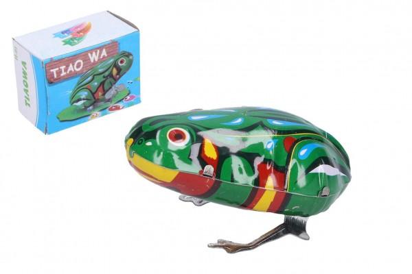 Žába na klíček kovová 7x5 cm v krabičce 7x5x4cm