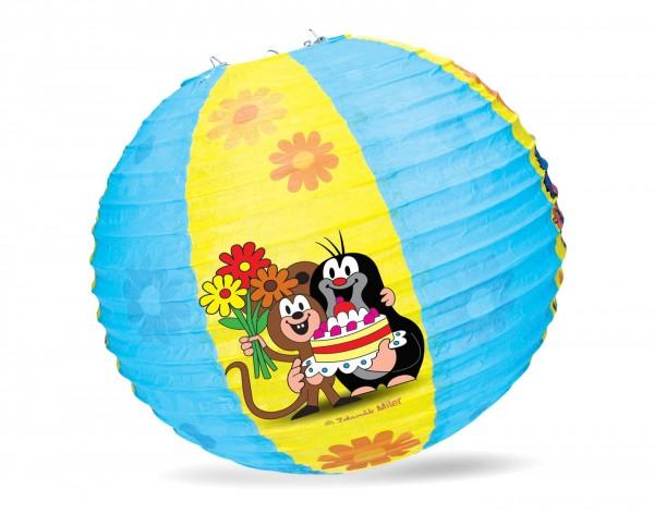Lampion kulatý Krteček 30cm v sáčku karneval