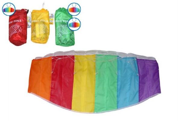 Drak létající plast 80x40cm asst 3 druhů 15ks v boxu